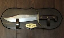 Authentic Western W49 Bowie Knife Circa 1840 With Display
