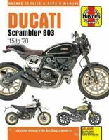 Ducati Srambler 803cc Haynes Manual 6466 NEW
