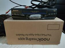 Panasonic Omnivision Pv-V4520 Hi-Fi Stereo Vcr (No remote) Ugly, but works! Read