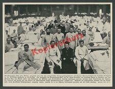Luise von Baden Adel Verwundete Soldaten Lazarett Ärzte Festhalle Karlsruhe 1915
