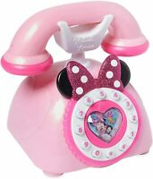 Disney Junior Minnie Mouse Telephone Playset Lights & Sounds Toy