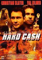 HARD CASH CHRISTIAN SLATER VAL KILMER DVD NUOVO SIGILLATO