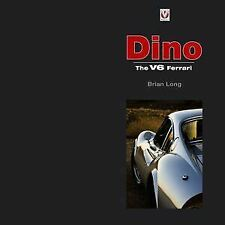 Ferrari Dino The V6 Enzo Book Long  Fiat Lancia Stratos 246Gt Spider New