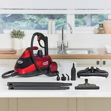 Red Multi-Purpose Corded Electric Steam Cleaner Home Portable Cleaning Machine