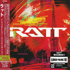 RATT - INFESTATION + RATT EP LIVE - JAPAN CD+DVD - RATT'N LIVE - RRCY-29224/5