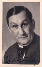 ERNST TAUTENHAYN operetta tenor signed photo major Vienna figure