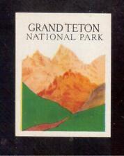 1934 Grand Teton National Park, Wyoming Poster Stamp