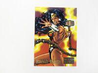 1995 Marvel Versus DC John Byrne Comic Trading Card Wonder Woman #27