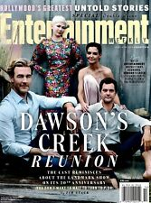 Entertainment Weekly Magazine April 6, 2018 Cover 1 of 5 DAWSON'S CREEK REUNION