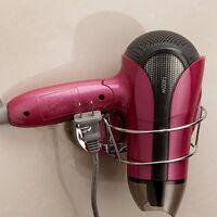 Spiral Blow Hair Dryer Stand Flat Holder Suction Cup Blower Hang Rack Organizer