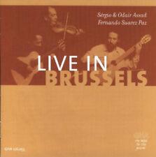 Live in Brussels / Sergio Assad, Odair Assad, Fernando Suarez Paz (CD)
