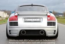 Rieger Diffusore Posteriore Carbon-Look Audi Tt 8N