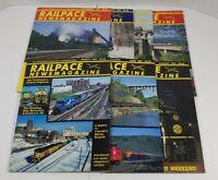 Railpace Newsmagazine Lot Of 7 1991