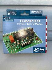 ICM289 FURNACE CONTROL MODULE