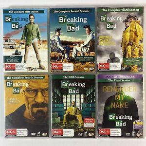 Breaking Bad: The Complete Series Box Set (DVD, 2014, 21-Discs) Season 1-6
