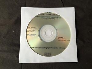 DELL Optiplex 320 - 740 - 745 - 745c XP Drivers CD DVD Disc