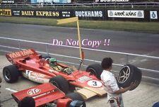 Reine Wissel Gold Leaf Team Lotus 56B British Grand Prix 1971 Photograph