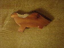 Tolle Haarspange für Kinder. Dinosaurier. Aus Holz. Metallspange.