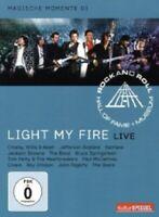 RRHOF-LIGHT MY FIRE (BRUCE SPRINGSTEEN,THE DOORS,SANTANA UVM) DVD ROCK  NEU