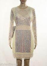 ASOS Embellished Mirror Pastel Bodycon Dress - UK 14 RRP £95