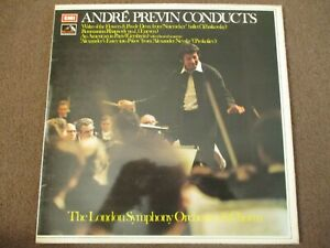 ANDRE PREVIN CONDUCTS THE LONDON SYMPHONY ORCHESTRA - LP - HMV - SEOM 14 - NM