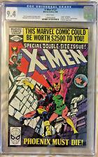X-MEN #137 CGC 9.4 MARVEL COMICS 1980 DEATH OF PHOENIX CLAREMONT BYRNE WHITE PGS