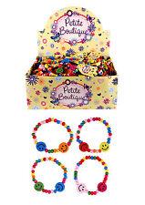 10 x Childrens Kids Girls Smile Fashion Bracelets Party Bag Favour Toys G02 892