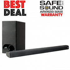 POLK AUDIO SIGNA S1 SOUNDBAR HOME THEATER SYSTEM