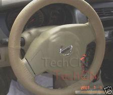 Couvre Volant Cuir Renault Modus Megane Laguna Clio Beige