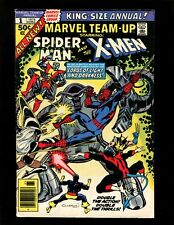 Marvel Team-Up Annual #1 FN+ Cockrum Spider-Man Early New X-Men Wolverine Storm
