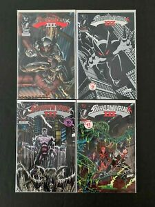 SHADOWHAWK III FULL SET #1,2,3,4 (3RD SERIES) IMAGE COMICS 1993-1994 NM+