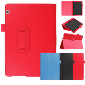 Case For Huawei MediaPad T3 10 9.6'' T5 10 10.1'' PU Leather Stand Folio Cover