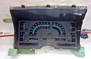 86 87 88 Chevrolet S10 CLUSTER Speedometer ACDelco GM OEM  25086196 | 25078793