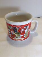 CAMPBELL KIDS SOUP WIDE MOUTH MUG BOWL SEASON 1998 SOUP CHILI COFFEE Winter Fall