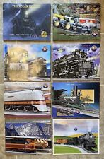 8 Early 2000s Lionel Catalog Lot Polar Express Hiawatha Olympian K-Line Train