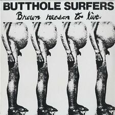 Butthole Surfers Brown Reason To Live GREEN VINYL LP Record & MP3 psych punk NEW