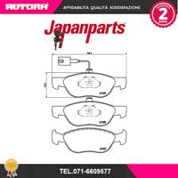PA0053AF Kit pastiglie freno a disco anteriore Fiat-Lancia (MARCA JAPANPARTS)