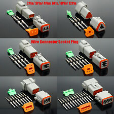 DT04 DT06 Waterproof Wire Connector Socket Plug Electrical Auto 2Pin/3Pin/4Pin