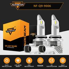 Auxbeam 9006 Hb4 Led Headlight Bulbs Kit Low Beam Fog Lights 6000k Super Bright