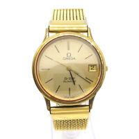 OMEGA De Ville Unisex Quartz Wristwatch Stainless steel JUNK NR15668