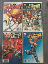 X-Force:Shatterstar Complete 4 Issue Series From 2005, Liefeld, Cable NM
