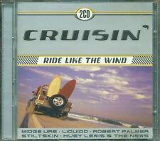 Cruisin Ride Like The Wind - Xtc/Matt Bianco/Poison/Huey Lewis 2X Cd Perfetto