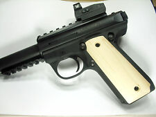 Unfinished Maple Ruger Mark III 22/45 Grips MK 3