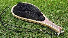 Fly fishing - tenkara - small wooden scoop net