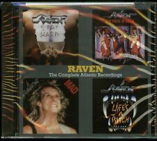 Raven The Complete Atlantic Recordings CD new stay hard mad pack is back