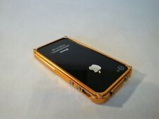 Apple iPhone 4 4S  hülle Etui BLADE by Tiger Desig Metall Alu Bumper GOLD NEU
