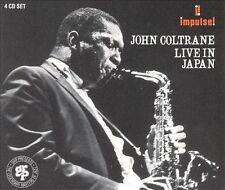 John Coltrane Live in Japan OOP 4-CD Set