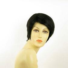 Perruque femme courte brun foncé ALICIA 2