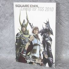 SQUARE ENIX Lineup for TOKYO GAME SHOW 2010 Booklet AD Art Japan Book PSP PS3