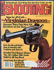 Vintage Magazine SHOOTING TIMES, January 1982 !!BROWNING HI-POWER  9mm PISTOL!!